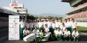 Sisma Láser España patrocina al equipo UPC ecoRacing en la Formula Student 2015