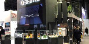 Sisma muestra las impresoras 3D everes DLP elegantes y rápidas en un evento de gala en Frankfurt